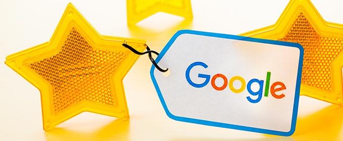Sterne bei Google