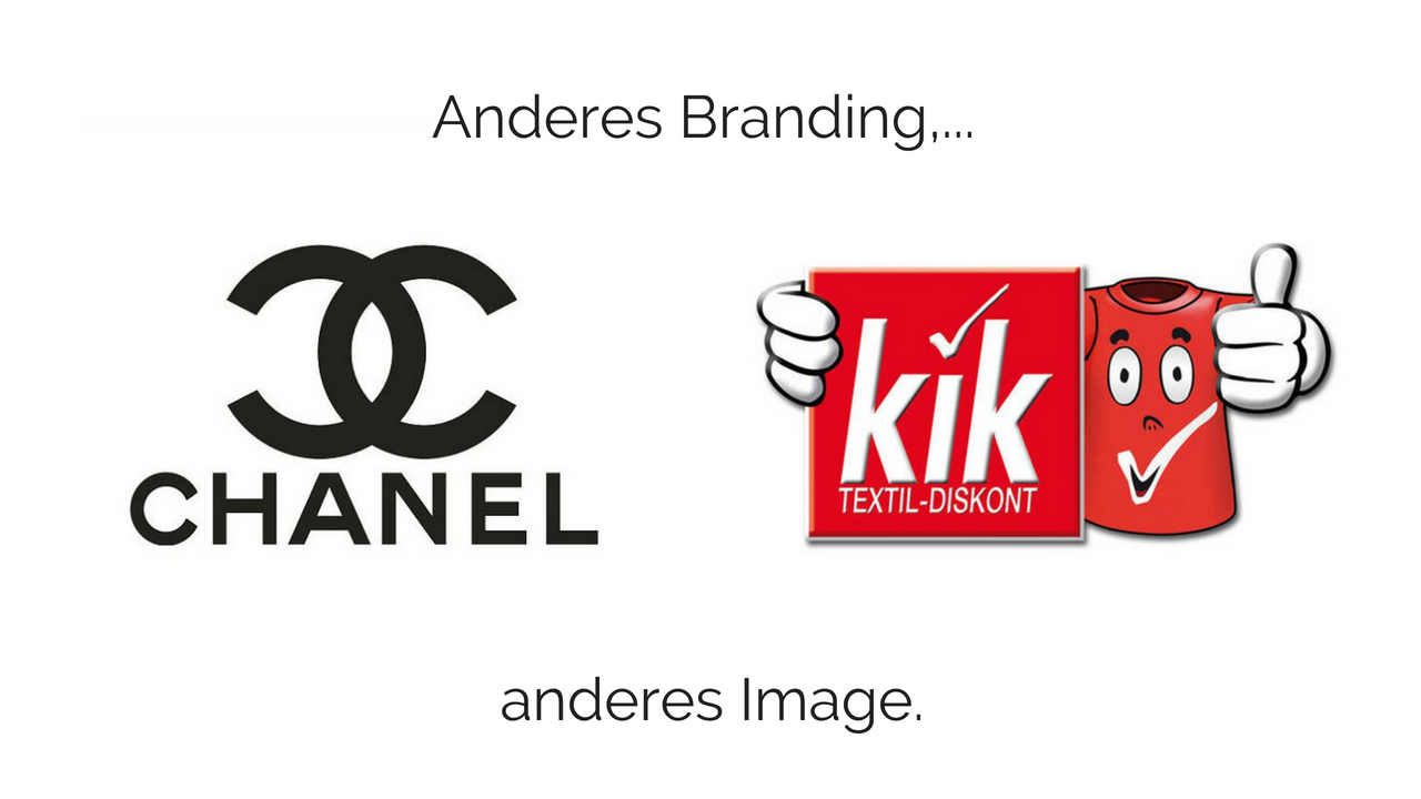 Anderes Branding anderes Image am Beispiel von Chanel und kik