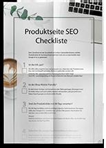Checkliste SEO Produktseite