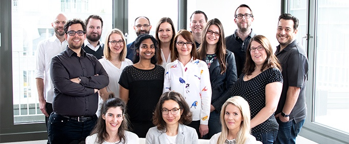 Ein Teamfoto vom TrustedShops Assessment-Team