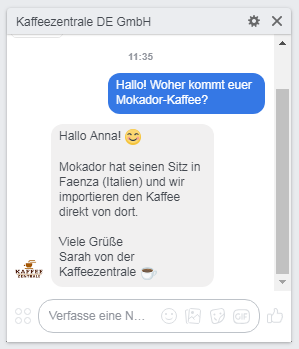 facebook chat