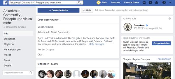 facebook-gruppe
