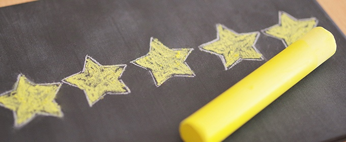 5 Google Sterne Bewertung