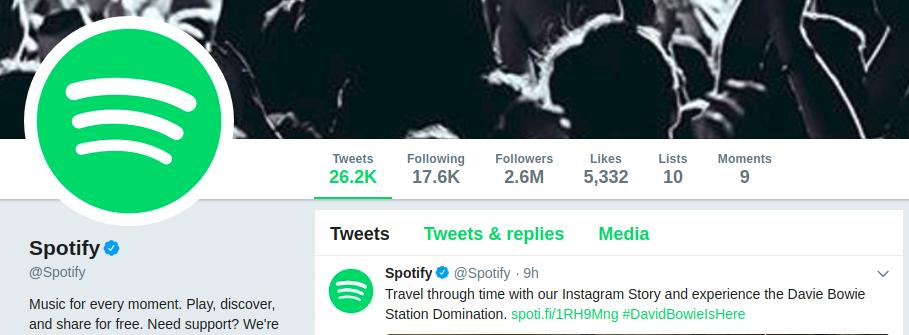 Spotify verwendet vereinfachte Logos