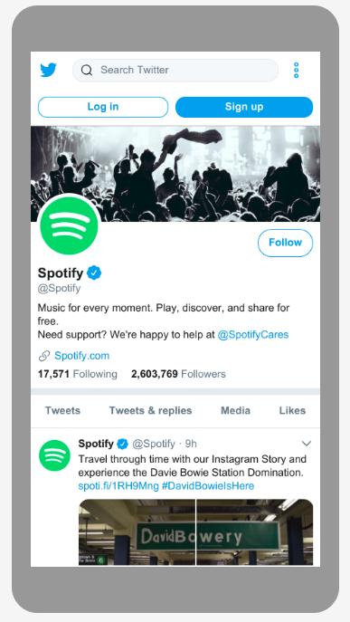 Spotifys Geräteoptimierung