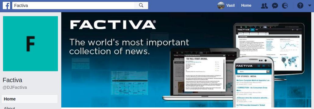 Factiva verwendet Titelbilder