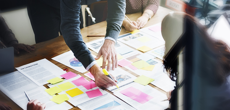 Background Image Webinar Online Marketing strategisch aufbauen