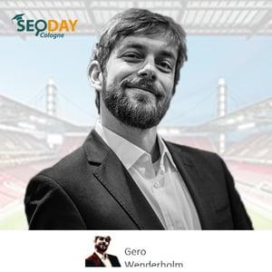 Speaker Gero Wenderholm
