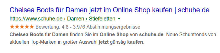 google-sterne-beispiel