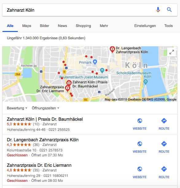 Google-MyBusiness-Beispiel-Ranking