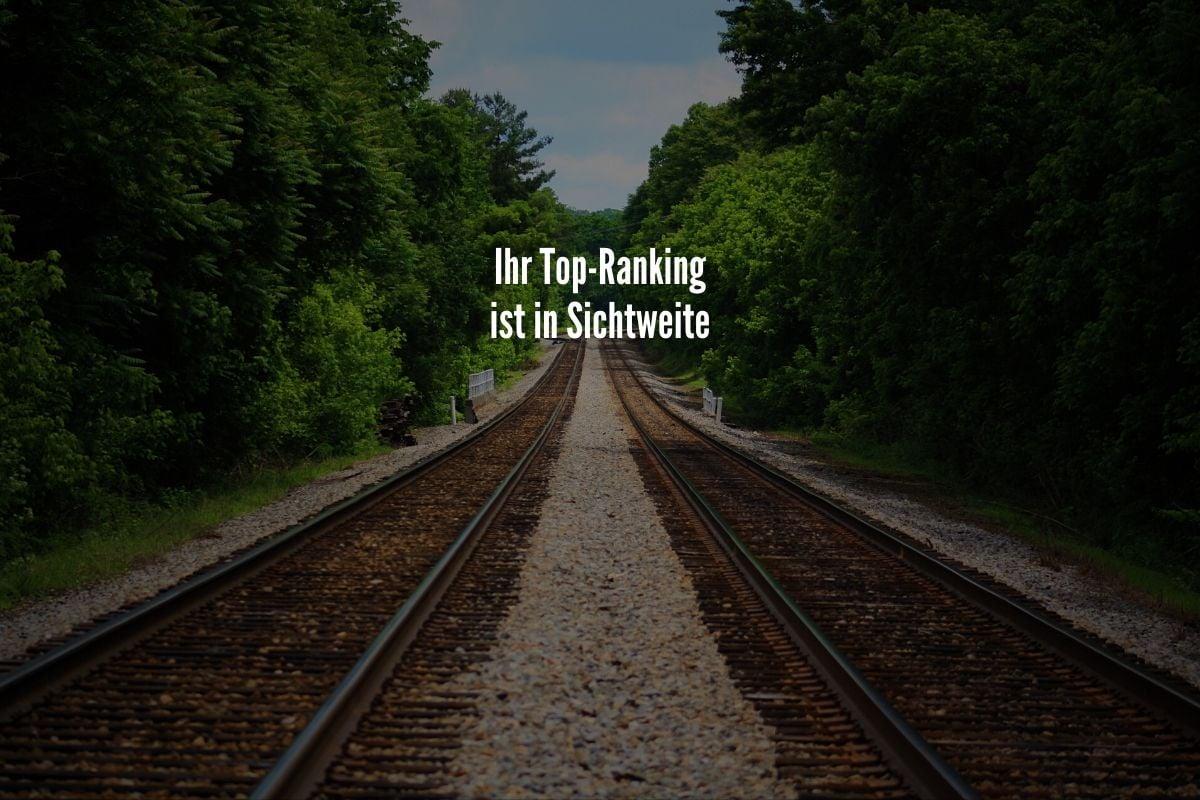 top ranking in sichtweite