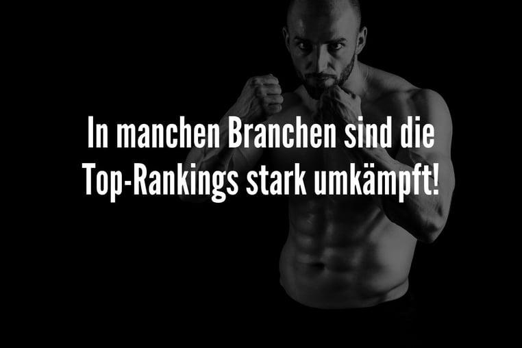 top ranking starke konkurrenz
