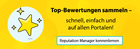 Banner: Reputation Manager kennenlernen