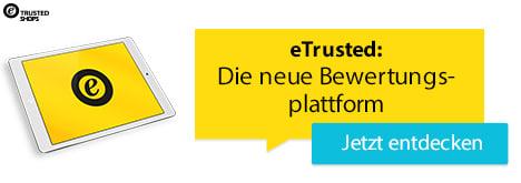 eTrusted: Die neue Bewertungsplattform