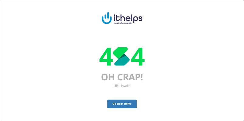 Eine 404-Fehler-Seite ist zu sehen.