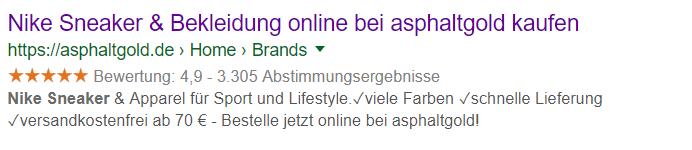 asphaltgold-google-sterne