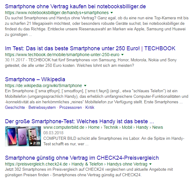 smartphone-serp