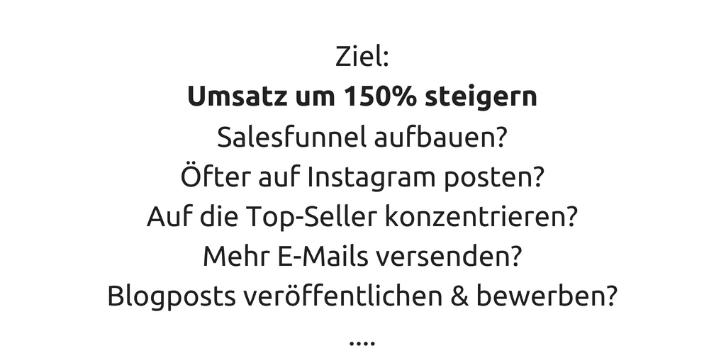 Marketing-Ziel-Beispiel