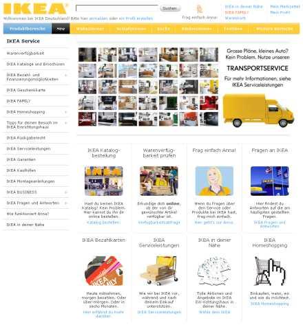 Ikea-Kundenservice