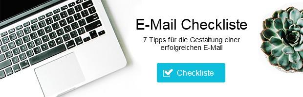 E-Mail-Checkliste