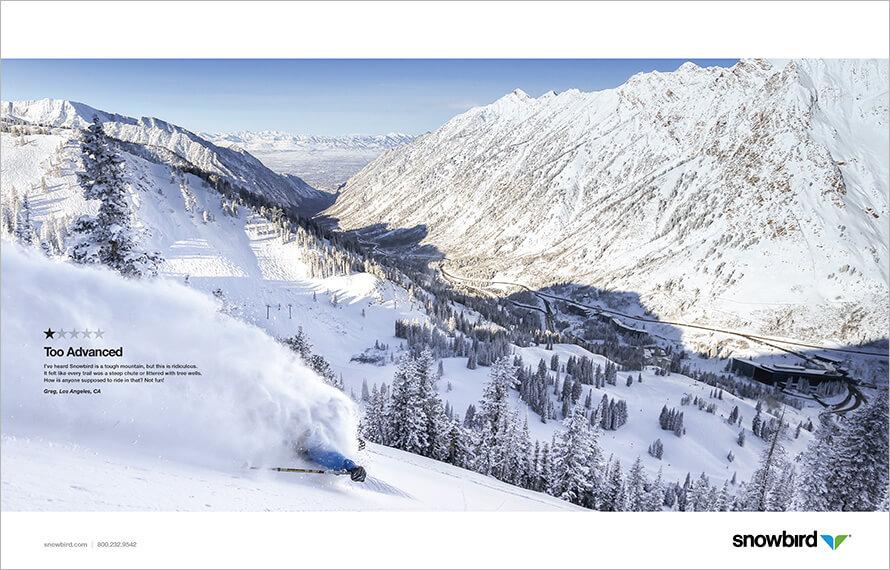 Snowboard Werbung Bewertung