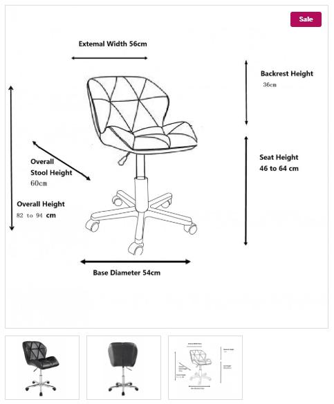 Produktbilder_Stuhl_Maße
