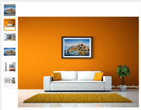 Produktbild_Poster_an_der_Wand